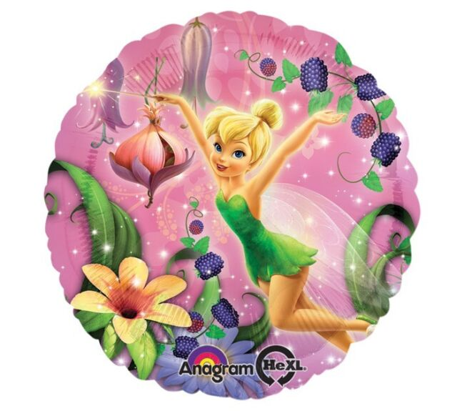 "17"" TINKERBELL Tink Disney Princess Fairies Birthday Party Mylar Balloon"