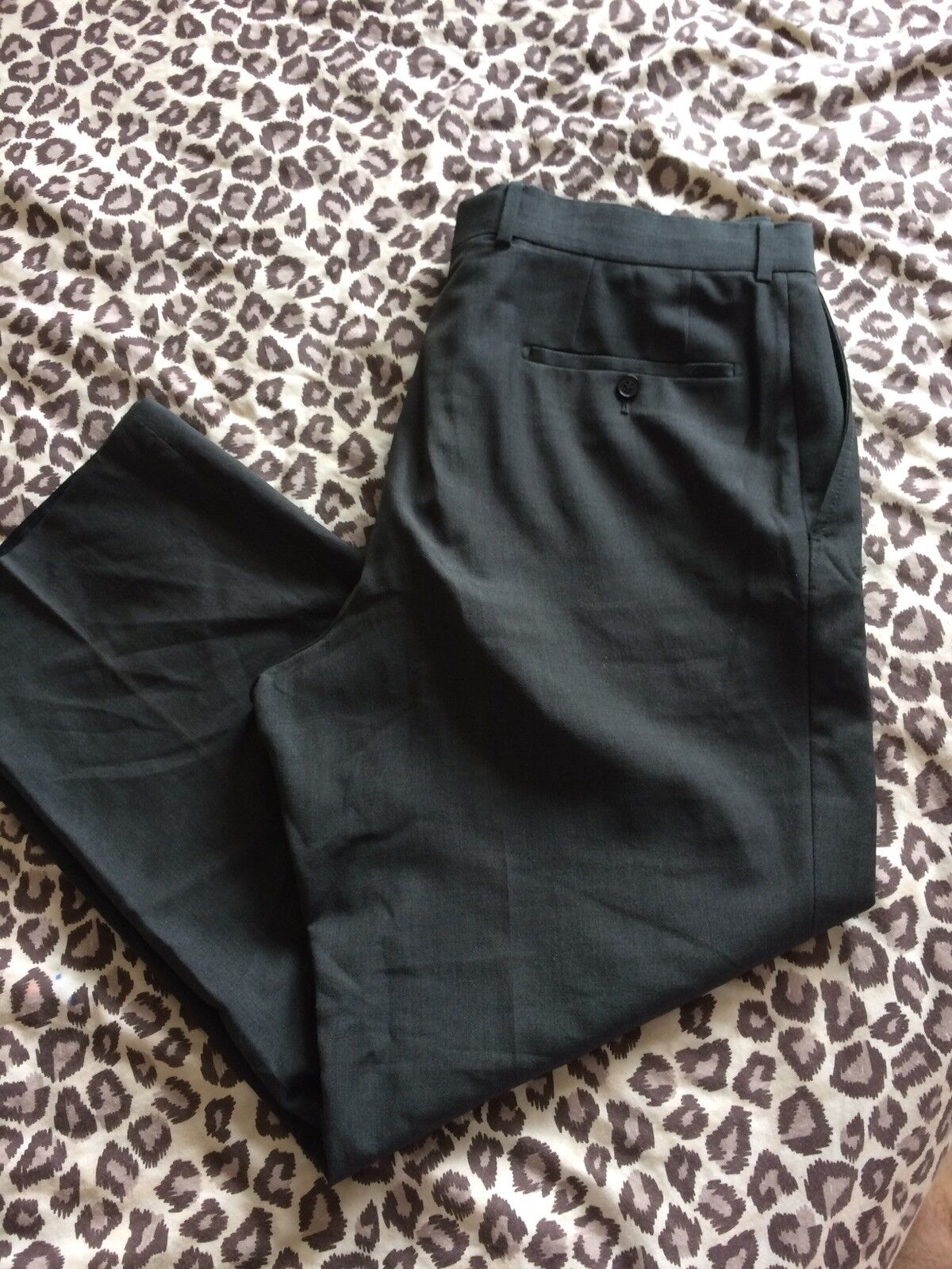 MENS 54 HUGO BOSS TROUSERS GENUINE DESIGNER JAMES BROWN PANTS EDITION