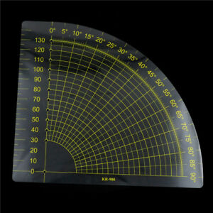 Tailor-Sewing-Tools-QuiltingPatchwork-ScrapbookCircle-FanFoot-Ruler-DIY-Craft-XR