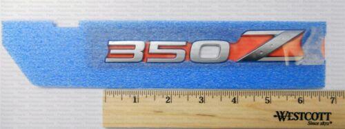 Genuine Nissan 2003-2009 350Z Trunk Emblem NEW OEM