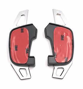Schaltwippen-DSG-Shift-Paddle-Golf-7-GTI-R-GTD-Polo-GTI-18-Scirocco-FL-Silber