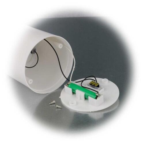CANDELA Solare Per Interno /& Esterno LED elettricamente sfarfallio Mer Sensore di Luce Plastica