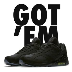Image is loading Nike-Air-Max-180-Night-Ops-Black-Volt- 54fbfadc1