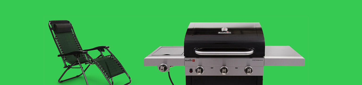 Up to 50% off grills.