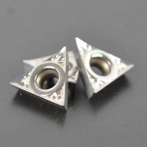 10pc TCGT090204-AK H01 Aluminum blade Carbide Inserts for Aluminum