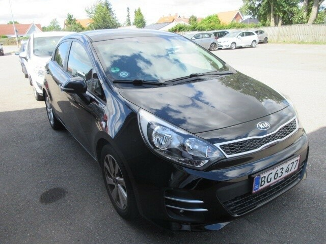 Kia Rio, 1,2 CVVT Attraction, Benzin, 2016, km 59000, sort,…