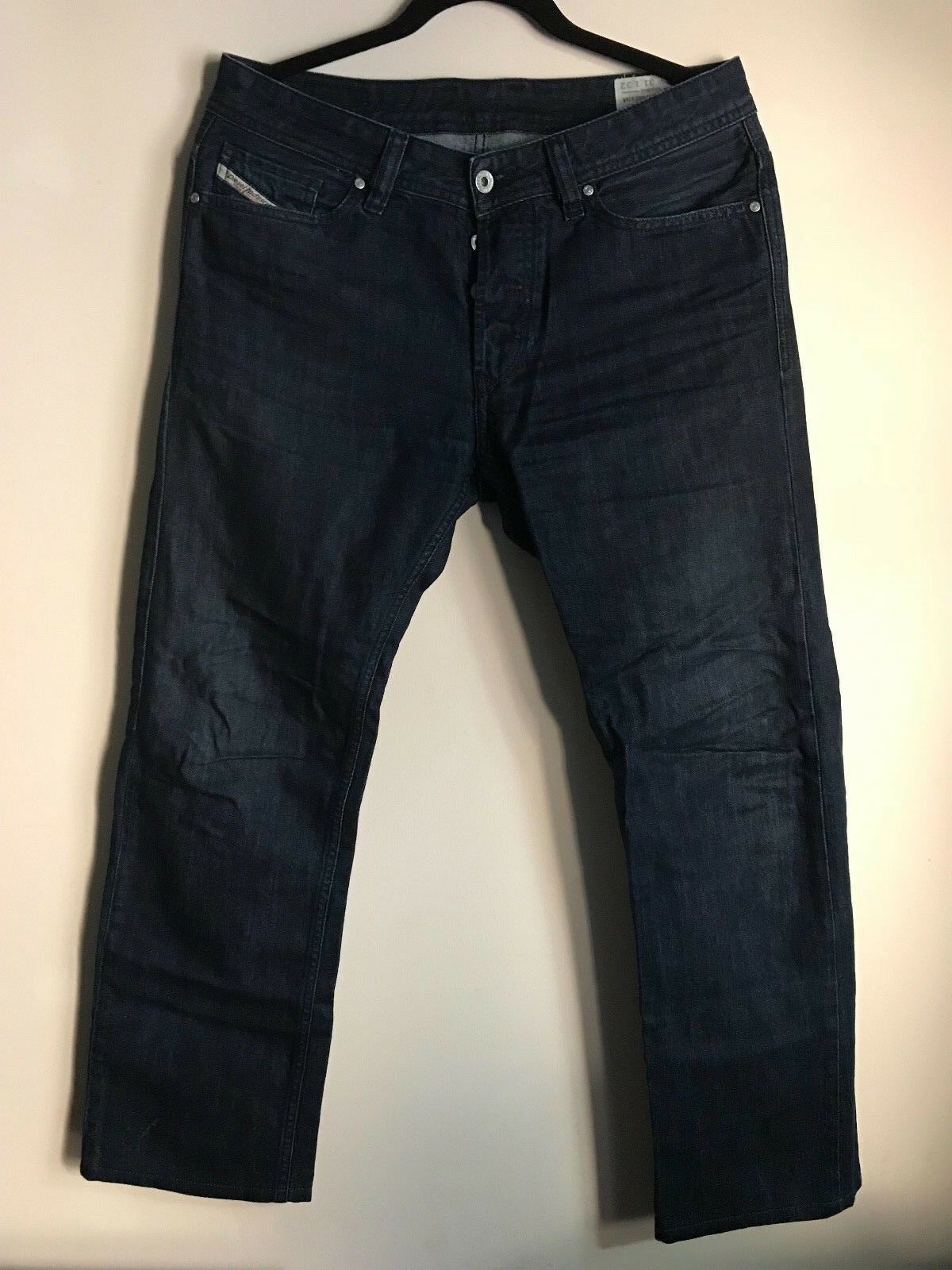 DIESEL Viker OR933 31x29 bluee Regular Straight Jeans 0R933