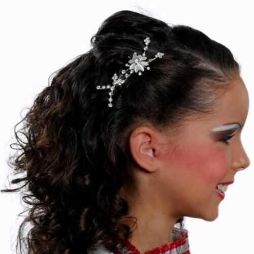 Hair Combs Ladies Fashion Accessories Diamante Slides Clips Head Pieces Bridal