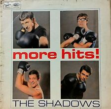 THE SHADOWS~MORE HITS~SCX 3578~1st PRESS +INNER~1965 UK LP