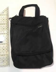 Image Is Loading Ll Bean Hanging Toiletry Travel Bag Black With