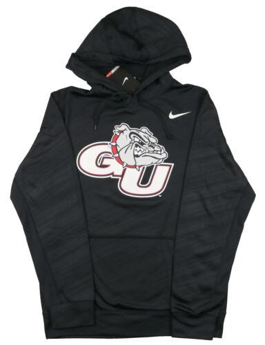 Nike Gonzaga Bulldogs Con Nero Cappuccio S Small Felpa Logo Stampa Taglia rrdqwPF