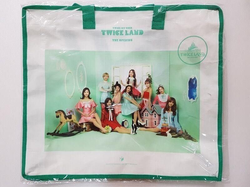 kpop twice concert twiceland concert goods tarpaulin bag ebay kpop twice concert twiceland concert