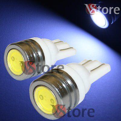 2 Led T10 Smd Bianco Xenon Lampade Luci Per Targa E Posizione W5 12v