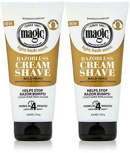 X-2-Magic-Hair-Bald-Head-Shaving-Cream-Smooth-Strength-SPECIAL-OFFER-Save