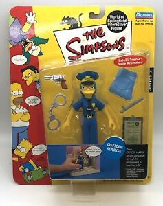 New-Playmates-Toys-The-Simpsons-Officer-Marge-Intellitronic-Series-7-Figure