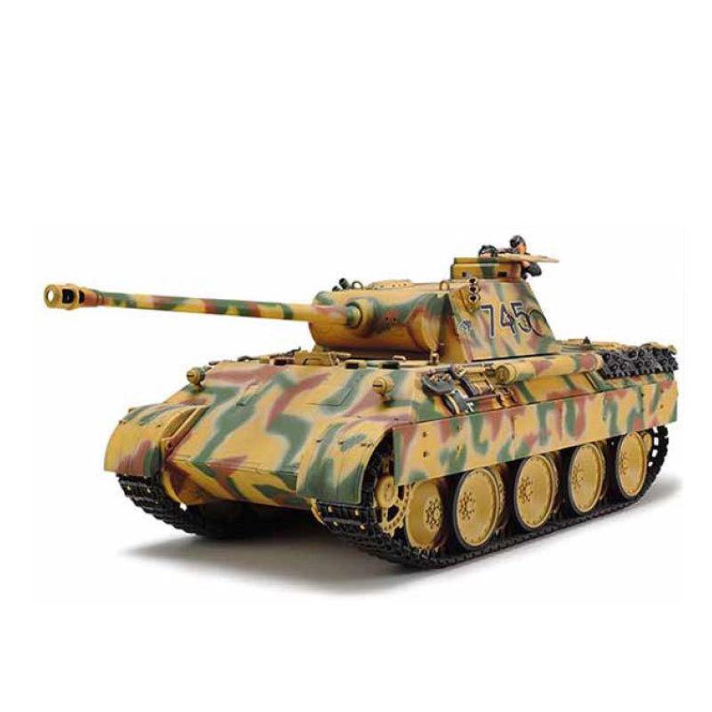 TAMIYA 25182 German Panther Ausf D (Special Edition) 1 35 Tank Model Kit