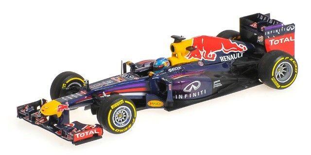 2013 Red Bull da Corsa - Sebastian Vettel 1 43 Scala da Minichamps