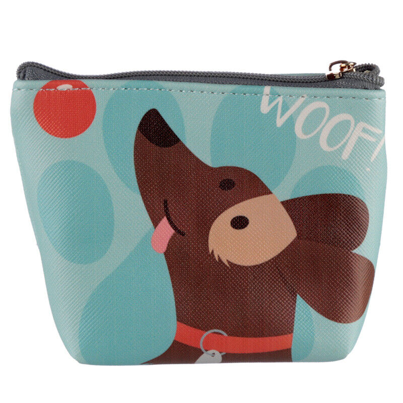 Cute zip up Playful Dog Purses, 2 designs to choose from, Ideal gifts