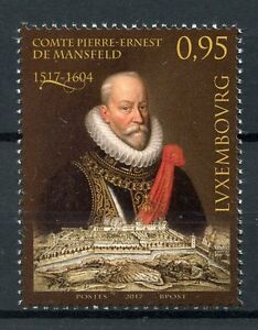 Luxembourg-2017-MNH-Count-Pierre-Ernest-Peter-Ernest-of-Mansfeld-1v-Set-Stamps