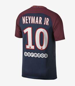 Nike PSG Paris Saint German 2017 - 2018 Neymar JR   10 Home Soccer ... 94c5538d3