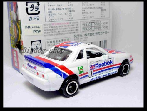 TOMICA 50TH HASEMI MASAHIRO REEBOK NISSAN SKYLINE GT-R R32 1//59 TOMY NEW
