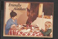 Alaska Joe  Colour Postcard Friendly Alaskan Chocolate Mousse unposted
