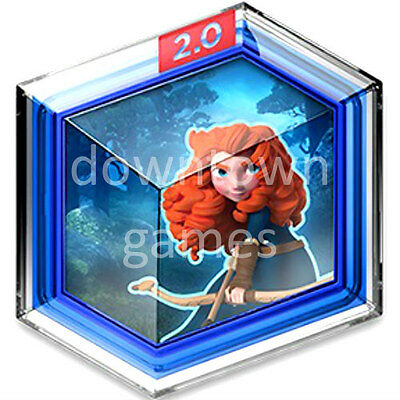 BRAVE FOREST SIEGE Disney Infinity 2.0 Originals Power Disc MERIDA Toy Box game