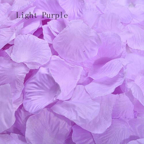 500PCs Party Supplies Table Petals Rose Flower Silk Wedding Decorations