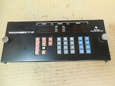 Texas Instruments Programmer TI101 100-3101 1003101 2490929-0001 MISSING BUTTON