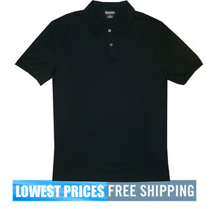 Michael-Kors-NWT-Men-039-s-Black-Resort-Stretch-Polo-Shirt-MSRP-69-Free-Shipping