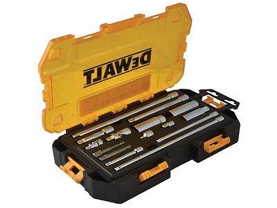 "Dewalt DWMT73807 15 Piece 1/4"" & 3/8"" Drive Socket Accessory & Extension Bar Set"