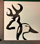 5-5-034-Deer-and-Duck-Vinyl-Decal-Sticker-Car-Truck-Country-Redneck-Window-Auto thumbnail 1