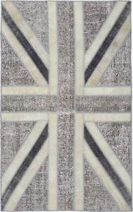 Patchwork-Teppich-Orientteppich-Rug-Carpet-Tapis-Tapijt-Tappeto-Alfombra-Vintage