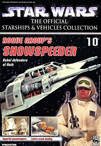 Deagostini Star Wars Starships & Vehicles Collection #10 Rogue Group Snowspeeder