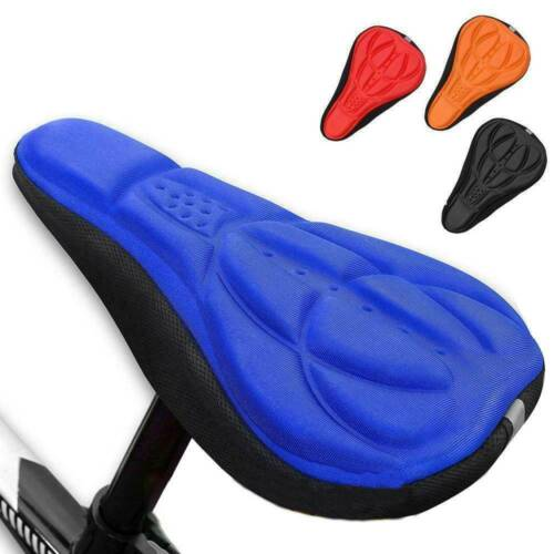 Bicycle MTB Bike Soft Comfortable Gel Saddle Cycling Seat Cover Soft Cusion Pad