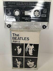 The Beatles White Album Part  2 (Capitol) Audio Cassette Tape FREE SHIPPING!