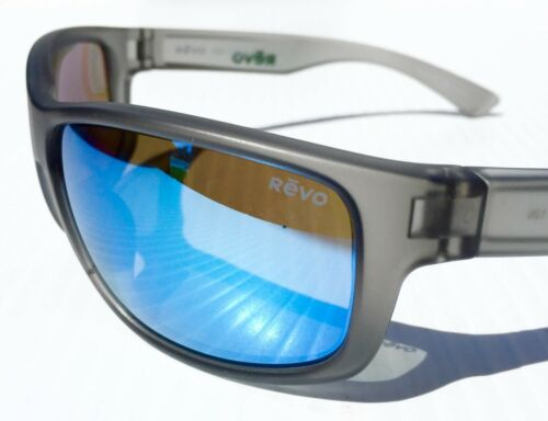 302b4e6f12 2 of 12 NEW  REVO Baseliner Matte GREY POLARIZED Blue Water ANGLER Sunglass  1006 00 BL