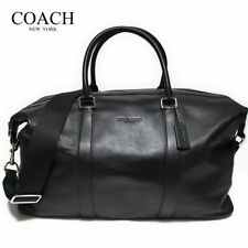 Item 2 Nwt Coach F54802 Duffle 52 Voyager Bag In Black Leather Msrp 795 00