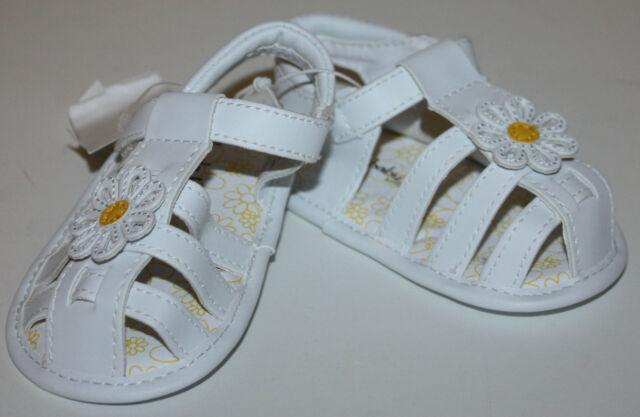 Koala Baby Kids White Infant Sandals