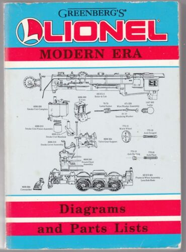 61173-034-GREENBERG-039-S-LIONEL-MODERN-ERA-DIAGRAMS-amp-PARTS-LIST-1977-1992-034