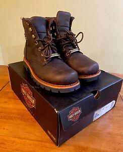 Harley Davidson Brown Vista Ridge Boots