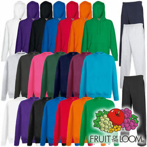 Fruit-of-the-Loom-Lightweight-Hoody-oder-Sweater-oder-Jogginghose-viele-Farben