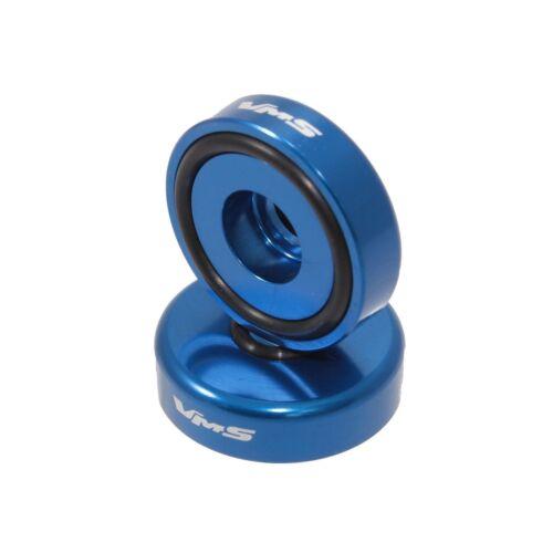 VMS BILLET BLUE B16 B18 VALVE COVER WASHER SEAL BULLET SPIKE NUT BOLT KIT