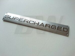 Chrome V8 Lettering for Range Rover SPORT TDV8 badge Supercharged HST HSE logo