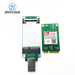 Details about SIMCOM SIM7000E MINI PCIE+USB SIM Adapter NBIoT CAT-M1 EMTC  USB UART GPIO ADC