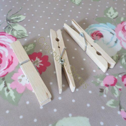 Big grande en bois bois Craft Artisanat Suspendu Mémo Clip détenteur de carte vêtements chevilles