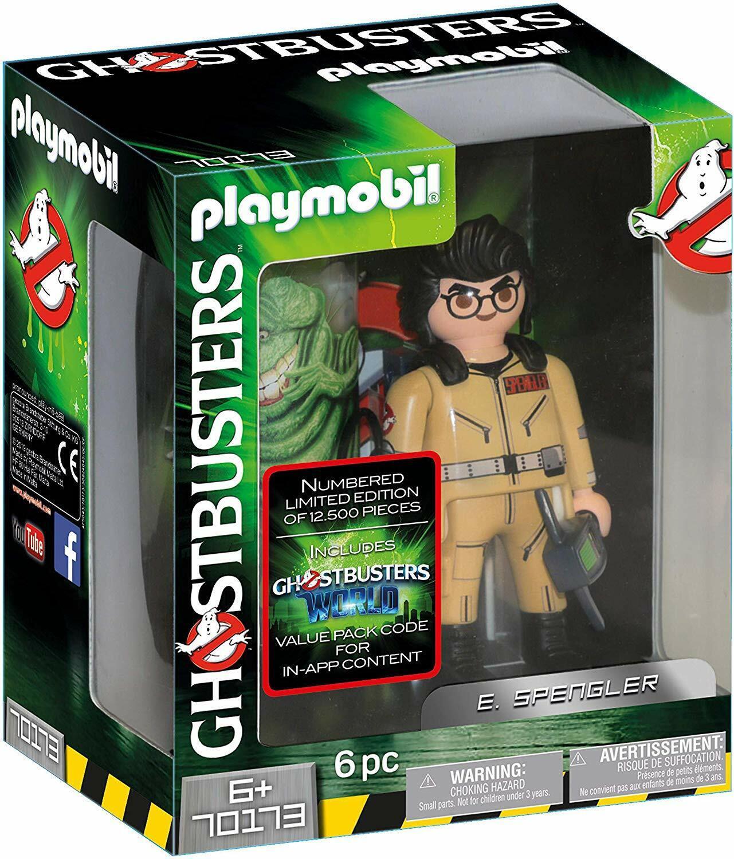 Playmobil  Cazafantasmas 70173. cifra coleccionable E. Spengler . 15 cm. +6 años  compra meglio