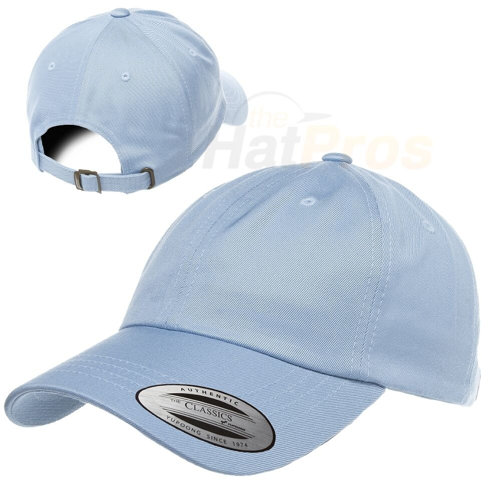 2e99e3c1989c5 6245CM Classic Cotton Unstructured Extra Low-Profile 6 Panel Dad Hat with  Antique Brass Buckle