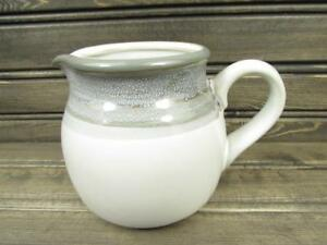 Sierra-Twilight-by-Noritake-Creamer-Stoneware-Gray-amp-Brown-Band-b222