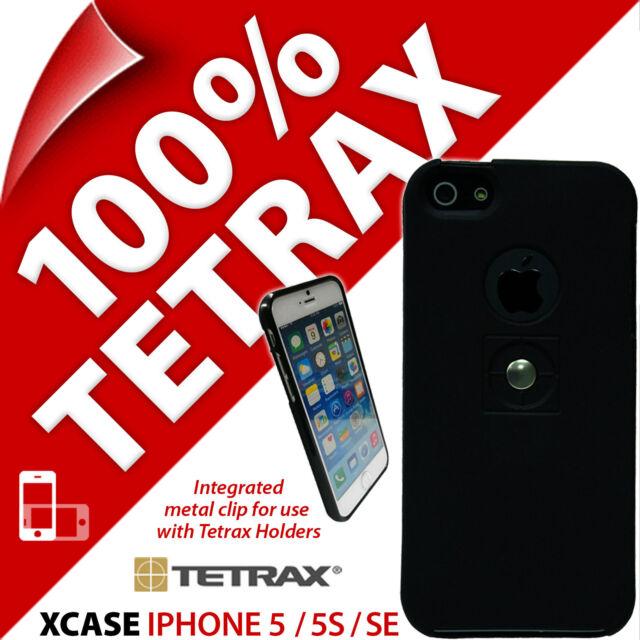 Tetrax XCASE PER APPLE IPHONE 5/5S/SE protettivo INTEGRATO clip custodia